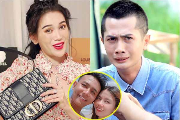 """Yêu Huỳnh Phương, Sĩ Thanh bị vợ Thái Vũ Faptv """"nói kháy"""" dùng hàng nhái giả hàng thật"""