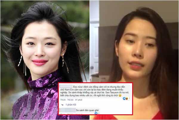 """Đăng bài thương Sulli, Nam Em lại bị anti-fans """"mỉa mai"""": CĐM Việt cũng ác miệng như Knet!"""