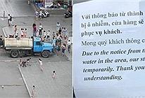 Nguồn nước công ty Sông Đà ô nhiễm khiến một cửa hàng Starbucks phải tạm đóng cửa, chưa biết khi nào mở lại