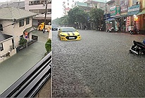 Trầm trồ nước lụt sạch không một cọng rác ở thành phố miền Trung không kém gì Nhật Bản