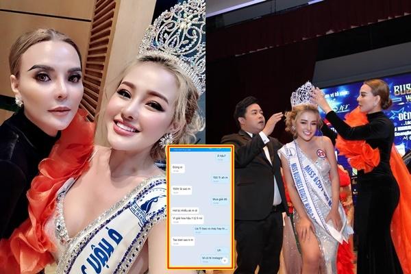 Ngân 98 đạt Á hậu tại Hoa hậu doanh nhân: Bị tố mua giải 150 triệu, dàn thí sinh có cả công nhân được thuê đóng giả
