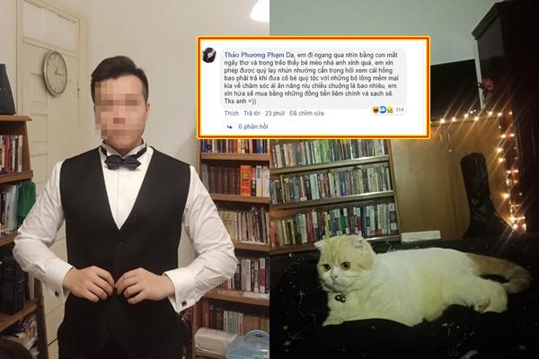 """Dân mạng dạy nhau cách hỏi mèo lịch sự sau sự việc boy gắt gỏng: """"Lạy anh trên cao, tiểu mao mua bao nhiêu ạ"""""""