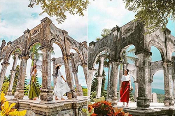 """Đổ xiêu đổ vẹo trước CUNG ĐIỆN NƯỚC TAMAN UJUNG """"đẹp ngây ngất"""" ở Bali"""