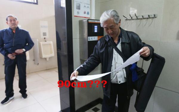 Đi WC phải quét nhận diện khuôn mặt để nhận 90 cm giấy vệ sinh ở Trung Quốc