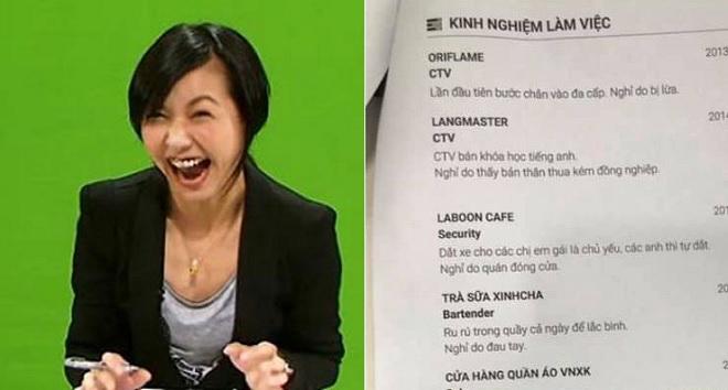 """CV thật thà """"nhất quả đất"""", nhà tuyển dụng ngoài ôm miệng cười còn biết hỏi gì"""