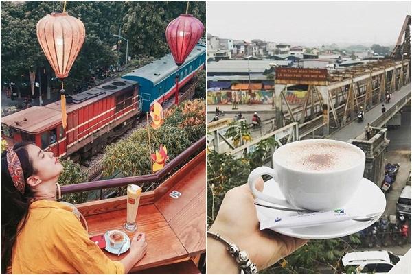 """Tạm quên xóm đường tàu đi, Hà Nội còn có 2 Quán Cafe view Đường Tàu """"xịn xò"""" hơn nhiều"""