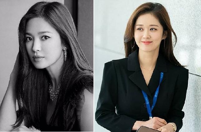 """Song Hye Kyo tung loạt ảnh """"cực căng"""" sau ồn ào, thách thức  """"người đẹp không tuổi"""" Jang Nara"""