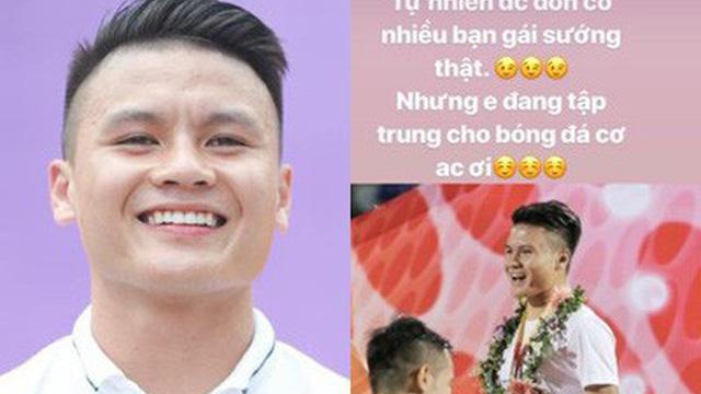 Quang Hải chính thức lên tiếng đính chính vì tin đồn cặp kè với nhiều hot girl MXH