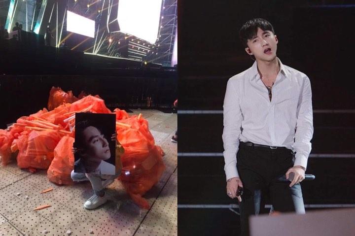 """Up ảnh dọn rác sau liveshow, cộng đồng fan Sơn Tùng bị """"ném đá"""": """"Bớt làm màu đi, không xả thì sao phải ở lại nhặt"""""""