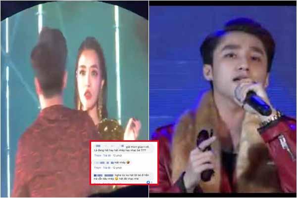 Đang hát bị khán giả giật mic tìm con, Bích Phương để lộ hát nhép giống hệt Sơn Tùng?