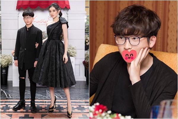 Lâu lâu mới thấy xuất hiện, em trai Huyền My 16 tuổi đã cao 1m74, ngoại hình không khác thiếu niên Hàn Quốc