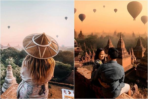 """Hãy đi ngay xứ cổ tích Bagan mùa khinh khí cầu đẹp """"mê man"""" tháng 11 này"""