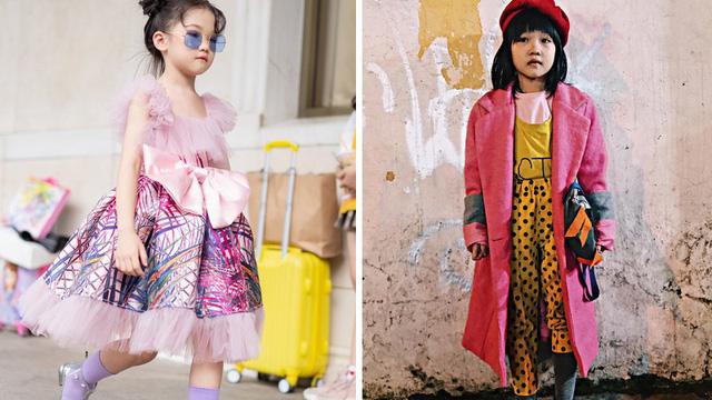 Loạt ảnh sải bước chẳng thua kém dân fashionista chuyên nghiệp của cô bé vô gia cư tại tuần lễ thời trang quốc tế