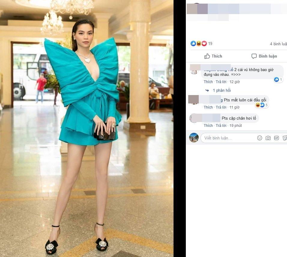 """Nối gót Phượng Chanel, Hồ Ngọc Hà bị CĐM """"bóc mẽ"""" photoshop đến mất cả đầu gối"""
