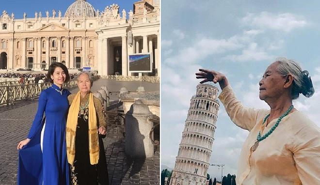 Cô gái 9x đưa bà ngoại 85 tuổi du hí khắp châu Âu: Khoảnh khắc ý nghĩa bên người thân yêu là vô giá