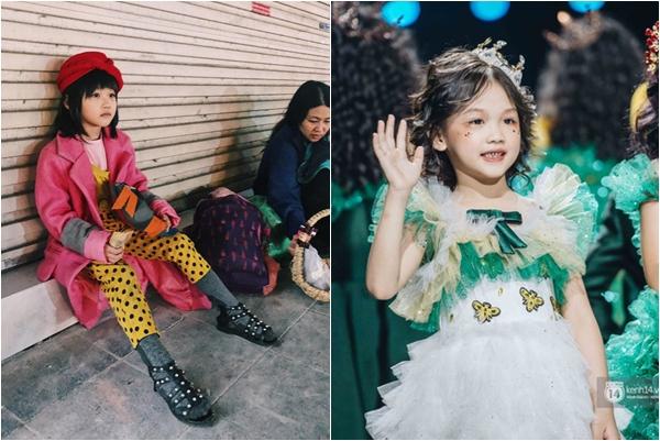 """Khoảnh khắc xúc động của """"Cô bé vô gia cư"""" có ước mơ người mẫu tại sàn diễn VIFW Thu Đông 2019,"""