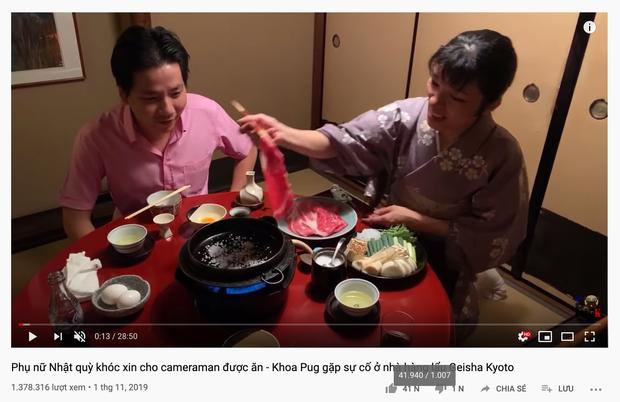 """Câu view bằng cụm từ thiếu tôn trọng phụ nữ Nhật trong vlog mới nhất, Khoa Pug nhận loạt """"gạch đá"""""""