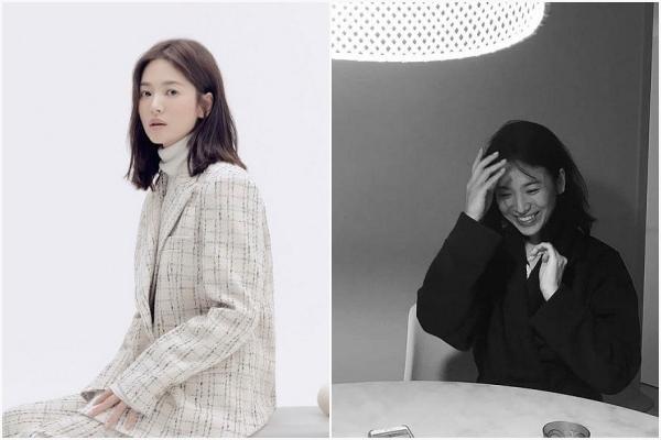"""Khoảnh khắc lộ mặt mộc đầu tiên của Song Hye Kyo hậu ly hôn, quả là """"không đùa được đâu"""""""