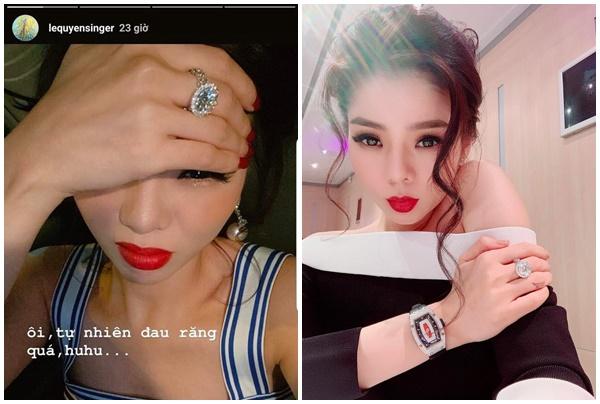 Suốt ngày khoe nhẫn kim cương, Lệ Quyên lại tuyên bố nghệ sĩ Việt không giàu