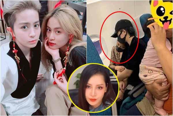 Phản ứng của Chi Pu khi tình cũ Gil Lê công khai ôm ấp Hoàng Thùy Linh trên máy bay?