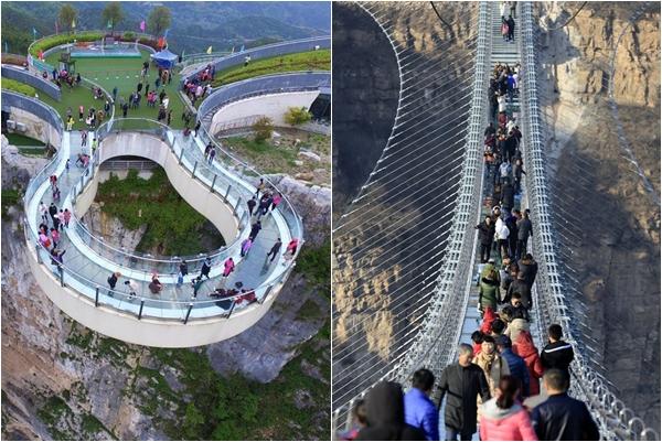 Cầu kính Trương Gia Giới và loạt công trình ở Trung Quốc phải đóng cửa vì thiếu an toàn