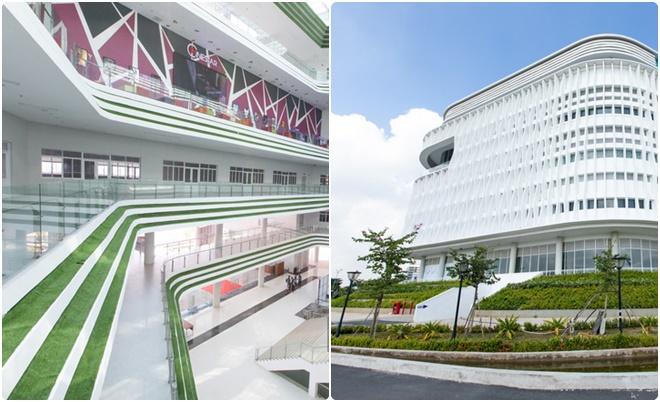 """Sinh viên trải nghiệm Nhà văn hóa Sinh viên thiết kế """"lục giác"""" hơn 400 tỷ đồng ở Làng Đại học"""