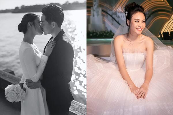 Đông Nhi, Đàm Thu Trang, Nhã Phương: đám cưới tiền tỷ nhưng tuyệt nhiên cô dâu lại giản dị thế này