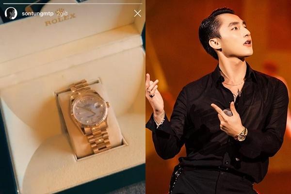Sơn Tùng tiếp tục gây xôn xao bởi tậu đồng hồ gần cả tỷ đồng chỉ để diễn 1 buổi
