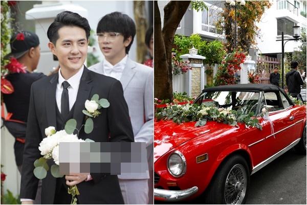 """Đám cưới Ông Cao Thắng - Đông Nhi: Chú rể huy động dàn siêu xe mui trần thể hiện đẳng cấp """"trâm anh thế phiệt"""""""