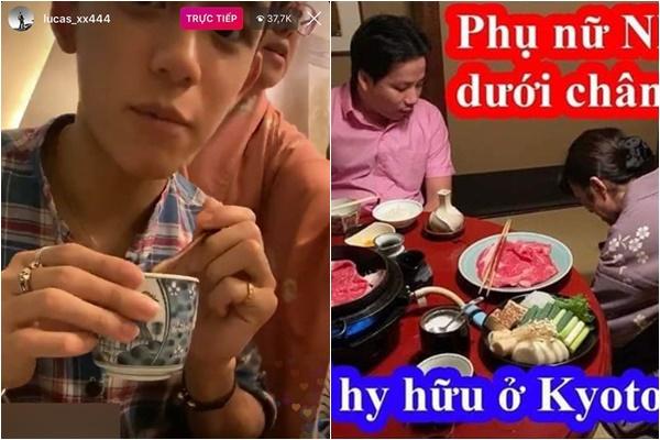 """Lấy tay che mặt nữ nhân viên nhà hàng Nhật, idol Hàn Quốc """"cà khịa"""" Khoa Pug cực mạnh"""