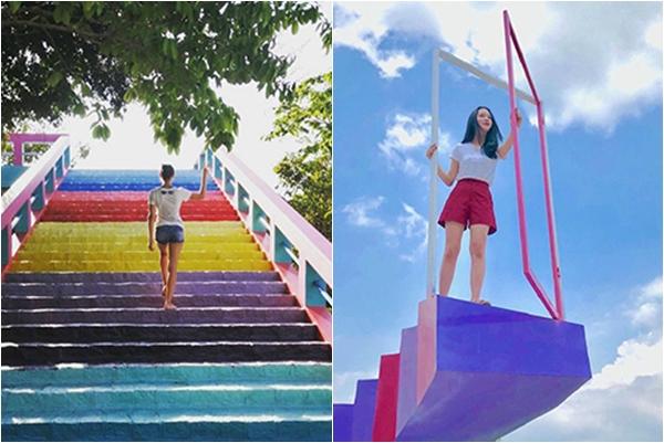 """Lùng ngay thiên đường """"sống ảo"""" với cổng cầu vồng, vườn hồng hạc,...ở ngay Bình Thuận"""