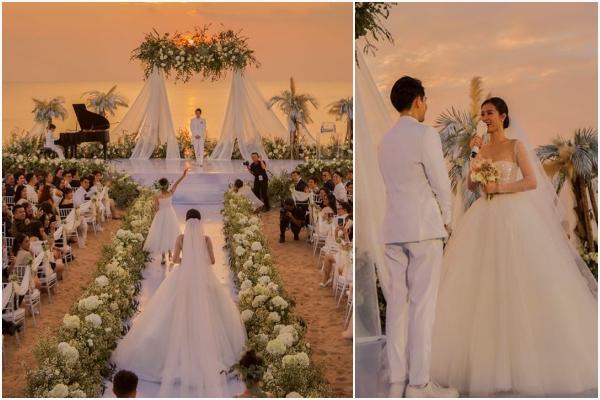 """Đám cưới của Đông Nhi đẹp như """"Chiều hoàng hôn Phú Quốc"""""""