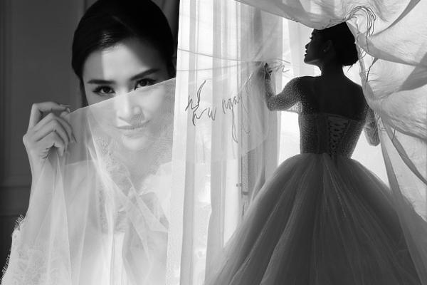 """Sau đám cưới thế kỉ, Chung Thanh Phong bật mí """"bí ẩn"""" đằng sau chiếc khăn voan độc nhất vô nhị của Đông Nhi"""