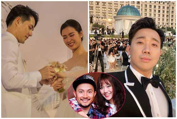 """Làm MC đám cưới, Trấn Thành có vô duyên khi nhắc chuyện tình """"đứt gãy"""" 9 năm của Hari Won?"""