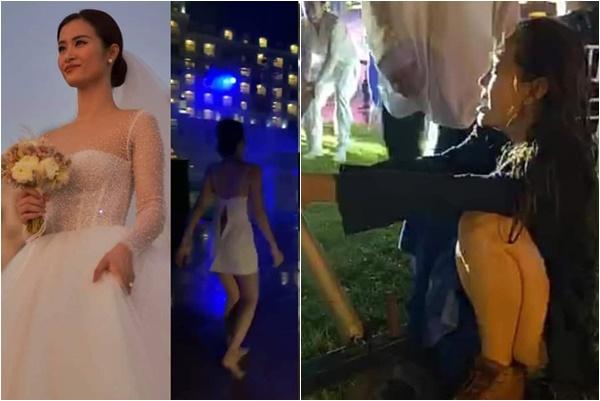 Góc phê pha: Đông Nhi và dàn khách mời đám cưới lúc đi sang chảnh, lúc về bê tha bết bát!