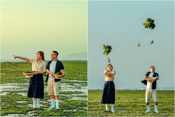"""Xuất hiện """"Cánh Đồng Rong Biển"""" ở Ninh Thuận lãng mạn hệt như phim Hàn Quốc"""