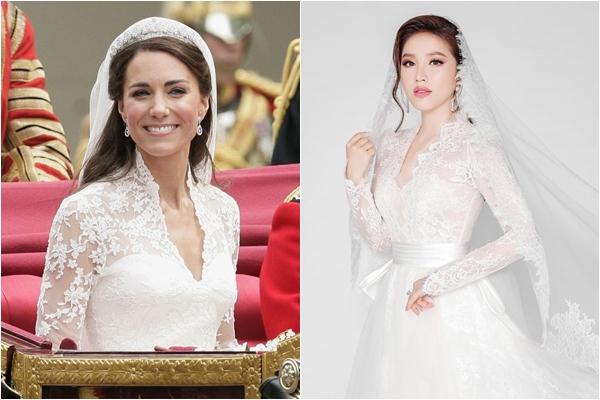 Ngắm trọn 3 bộ váy chụp ảnh cưới của Bảo Thy, 1 thiết kế khí chất như Công nương Hoàng gia Anh
