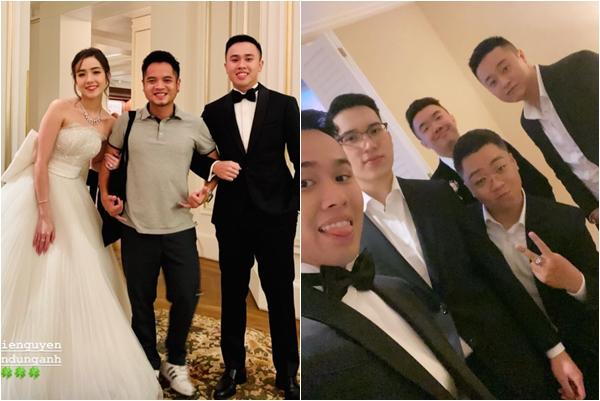 Mie Nguyễn cực xinh trong đám cưới riêng tư, diện mạo của chú rể và dàn phù rể còn gây chú ý hơn