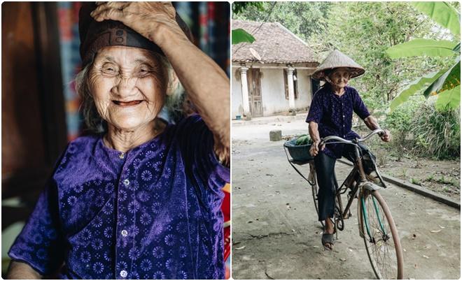 """Cụ bà 83 tuổi đạp xe lên xã xin """"thoát nghèo"""" tự thấy mình """"giàu nhất tỉnh"""""""