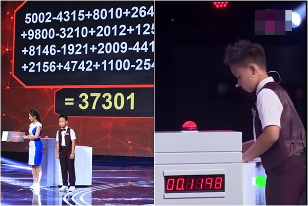"""Màn tính nhẩm kỷ lục 11 giây của """"thần đồng toán học"""" Gia Hưng bị nghi dàn xếp?"""