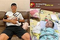 Hội ông bố bỉm sữa của đội tuyển Việt Nam lấy gia đình nhỏ làm động lực chuẩn bị