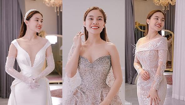 Giang Hồng Ngọc công bố 3 bộ váy cưới hơn nửa tỉ đẹp như mơ, nhưng ý nghĩa của nó mới đáng nói đến