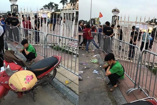 Bạn gái online hẹn đi xem đá bóng, chàng trai bắt xe 100km xuống Hà Nội, bị cho leo cây giữa sân Mỹ Đình