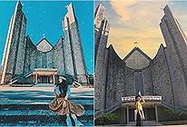Định vị tọa độ Nhà thờ Huế có kiến trúc đẹp như châu Âu, check-in