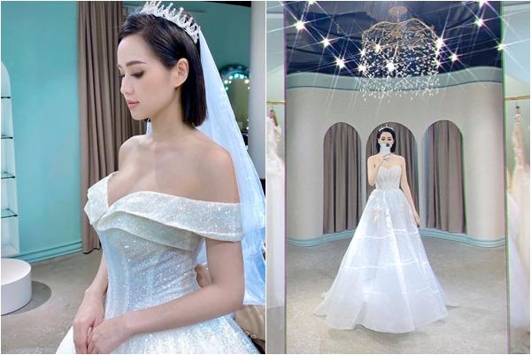 """Chẳng chờ đến 10 năm, Tâm Tít đã mặc váy cưới lần 2 kèm lời nhắn nhủ: """"Vẫn là cô dâu của anh ấy"""""""
