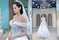 Chẳng chờ đến 10 năm, Tâm Tít đã mặc váy cưới lần 2 kèm lời nhắn nhủ: