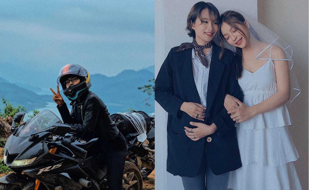 """Chia tay Quang Hải, thích phong cách tomboy, đi xe phân khối lớn, Nhật Lê bị hỏi khó: """"Khéo gay rồi""""!"""