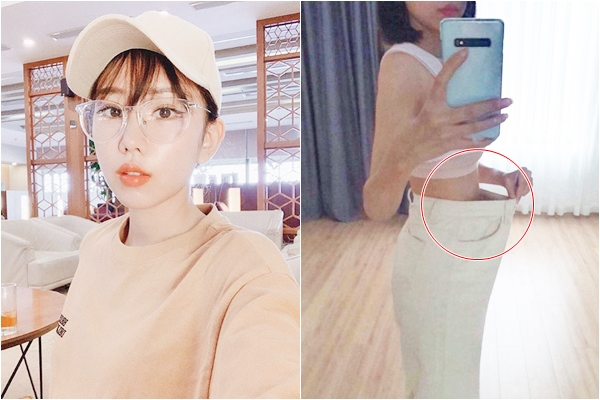"""Min khoe vòng eo thon gọn nhưng thân hình """"mỏng như lá lúa"""" vẫn khiến fan lo lắng"""