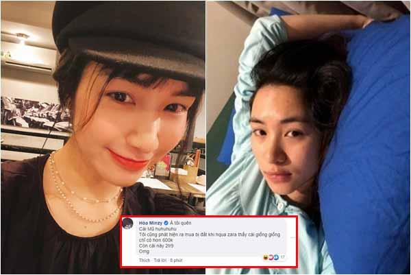 """Sau bức ảnh mặc xuề xòa, Hòa Minzy lại để lộ """"dấu hiệu"""" của bà mẹ bỉm sữa sau sinh?"""
