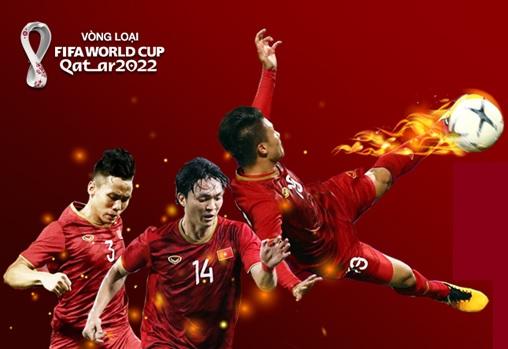 Hành trình của Những ngôi sao vàng tại Vòng loại World Cup 2022